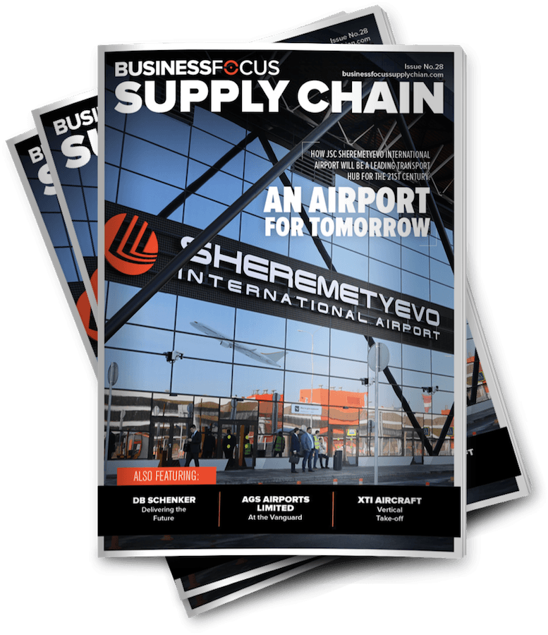 business focus supply chain magazine cover